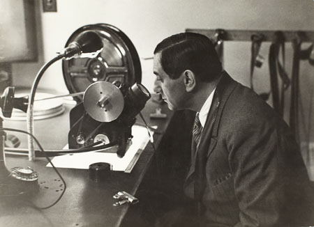 Erich Salomon, Film Director Ernst Lubitsch at Work