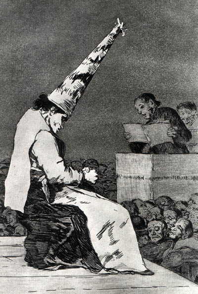 Francisco Goya, From Such Dust