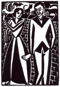 Cover: Frans Masereel, Untitled